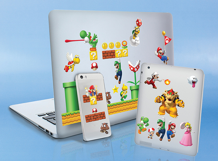 Super Mario Gadget Stickers | Super Mario / Bros / Kart