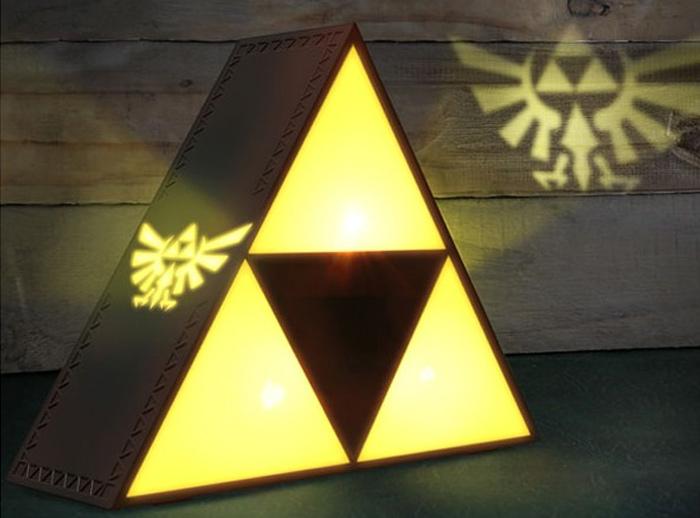 Triforce Room Light Projector The Legend Of Zelda